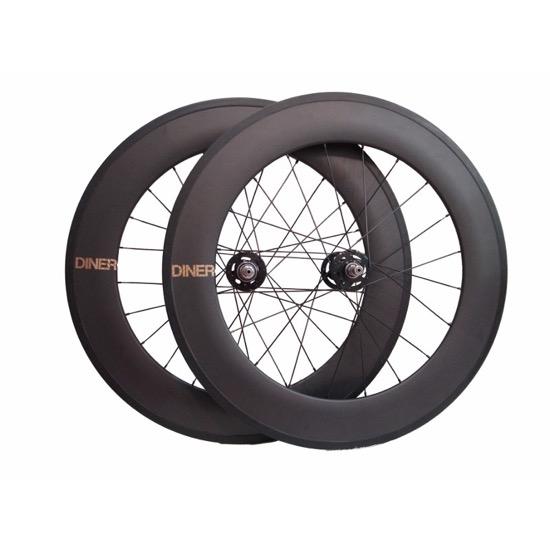 ピストバイク ホイール DINER 88mm CARBON CLINCHER WHEEL FRONT&REAR ダイナー 88mm カーボン クリンチャー ホイール フロント&リア PISTBIKE