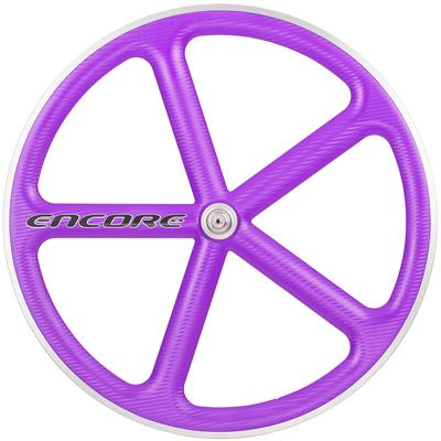 【Encore Wheels アンコール ホイール 】 ENCORE 700C WHEEL PURPLE バトンホイール パープル