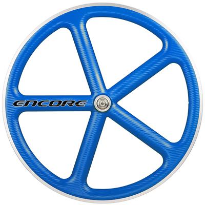 【Encore Wheels アンコール ホイール 】 ENCORE 700C WHEEL Voodoo Blue バトンホイール ブルー
