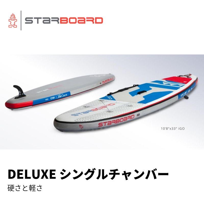 【送料無料】SUP インフレータブル サップ 2020 STARBOARD iGO DELUXE SINGLE CHAMBER 12'0
