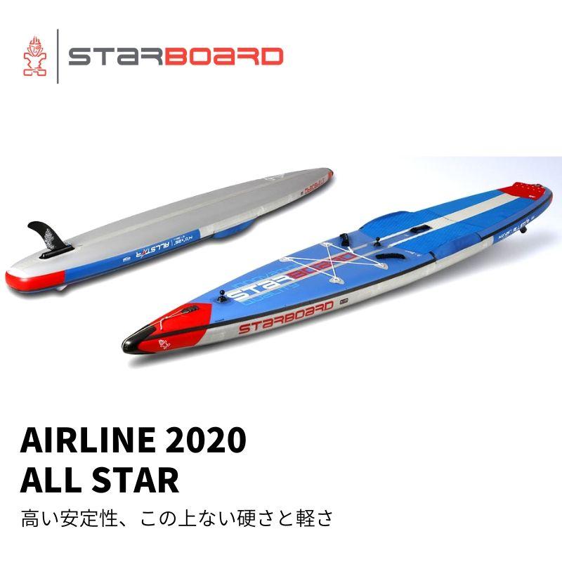 世界トップブランドのインフレータブルスタンドアップパドルボード 【送料無料】SUP インフレータブル サップ 2020 STARBOARD RACE ALLSTAR 14'0