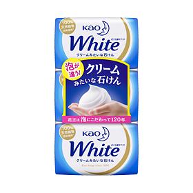 【まとめ買いがお得!】花王ホワイト 普通サイズ 3コパック 85g×3個入り×40セットKao White 4901301231987