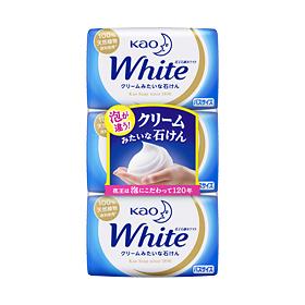 【まとめ買いがお得!】花王ホワイト バスサイズ 3コパック 130g×3個入り×20セットKao White 4901301232045【ラッキーシール対応】