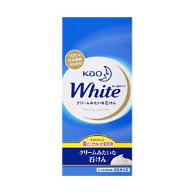 【まとめ買いがお得!】花王ホワイト バスサイズ 6コ箱 130g×6個入り×10セットKao White 4901301232052【ラッキーシール対応】