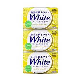 【まとめ買いがお得!】花王ホワイト リフレッシュ・シトラスの香り バスサイズ 3パック 130g×3個入り×20セットKao White 4901301309242【ラッキーシール対応】