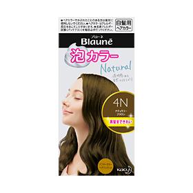 花王 ブローネ泡カラー 4N ナチュラリーブラウン 108ml×24セット Kao Blaune hair color 4901301329332