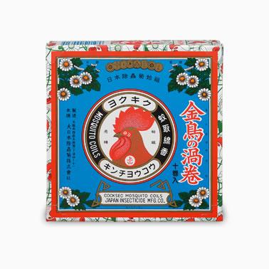 【まとめ買いがお得!】金鳥の渦巻 10巻×60セット Kincho Mosquito coil 4987115000315【ラッキーシール対応】