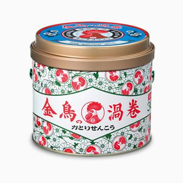 【まとめ買いがお得!】金鳥の渦巻 30巻 (缶)×24缶セット Kincho Mosquito coil4987115000339