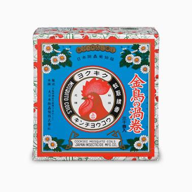 【まとめ買いがお得!】金鳥の渦巻 ミニサイズ 30巻×24函セット Kincho Mosquito coil 4987115000551【ラッキーシール対応】