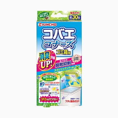 【まとめ買いがお得!】金鳥 コバエコナーズ ゴミ箱用 スカッシュミントの香り×40セット Kincho small household fly repellent 4987115542761