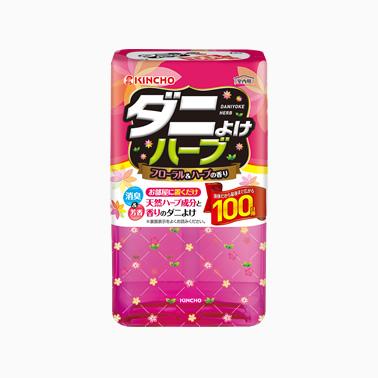 【まとめ買いがお得!】金鳥 ダニよけハーブ 100日 フローラル&ハーブの香り×24セット Kincho tick repellent Harb 4987115545519