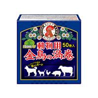 【まとめ買いがお得!】金鳥 動物用金鳥の渦巻 50巻 (紙函)×12函セット Kincho Mosquito coil for animal 4987115578043【ラッキーシール対応】