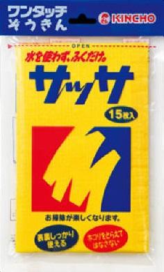 【まとめ買いがお得!】金鳥 サッサ 15枚×100セット Kincho Sassa 4987115800014