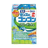 【まとめ買いがお得!】金鳥 タンスにゴンゴン クローゼット用N 3個入 無臭タイプ×40セット Kincho Tansuni Gongon 4987115842472