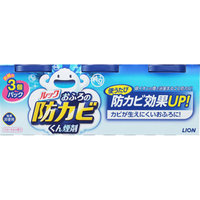 【まとめ買いがお得!】ライオン ルック おふろの防カビくん煙剤 フローラルの香り 3個パック(5g×3) 10セット Lion Look Ofuro 4903301187240