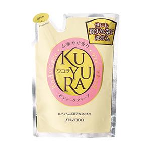 【まとめ買いがお得!】資生堂 クユラ ボディーケアソープ 心華やぐ香り つめかえ用 400ml Shiseido KUYURA BODY SOAP x18個セット 4901872836277, スリーラブ:155348e5 --- fpara.jp