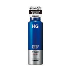 【まとめ買いがお得!】資生堂 HG スーパーハードムース 柔らかい髪用180g Shiseido HG SUPER HARD MOUSSE x36個セット 4901872899500【ラッキーシール対応】