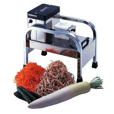 【送料無料】(沖縄県を除く) ドリマックス 電動1000切りロボ DM-91D 本物志向の多目的万能カッター!野菜・根菜の繊維にそってきれいなカット!業務用厨房調理機械 プロ用小型厨房機器