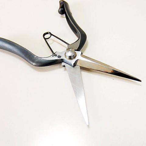 芽切金杂毛荣久修枝剪停止 210 毫米 T-17 S580C 修剪芽切剪板机越后三条书工匠制作最好的切割刀片卷笔刀由日本与安全