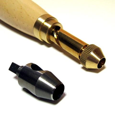 LONG RUN推进器冲头8mm辫子的    仅仅只是按也能简单地打洞!  在钟表带·皮带,皮革制品,硬纸板的穿孔机日本制造