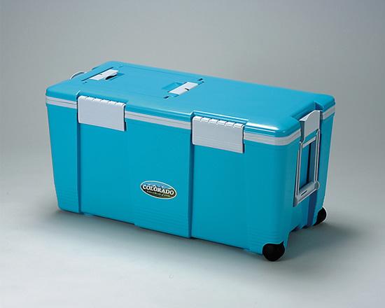 当店だけの限定モデル クーラーボックス コロラド #55 容量52L片側キャスター コロラド 水抜き栓 仕切り板兼用トレー付きアウトドア・キャンプ #55・レジャー・釣りに最適大型タイプ クーラーBOX クーラーBOX ブルー, まいもん越前:0d8d3d0f --- hortafacil.dominiotemporario.com