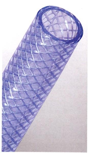 【送料無料】(沖縄県を除く)日之出化成 耐圧テクノネット 5分 15mm×20mm 50mホース ブルー