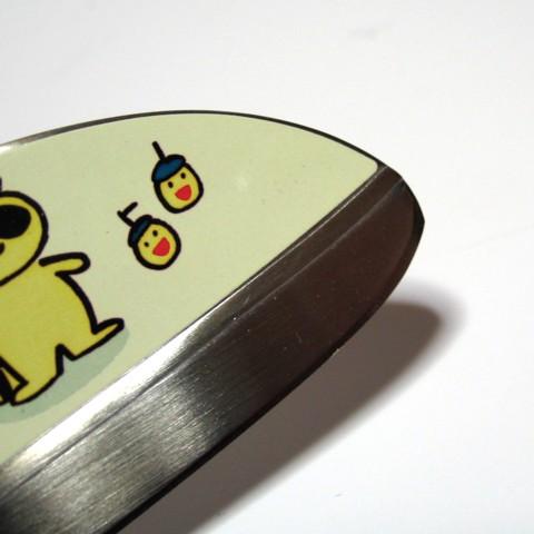 BRISA Bonita children's cooking knife 115 mm Green BB-4 children's knife made in Japan safe design kid knife!
