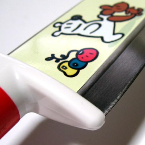 布里萨 Bonita 儿童烹饪刀 115 毫米绿色 BB-4 儿童安全设计钢日本刀孩子刀!