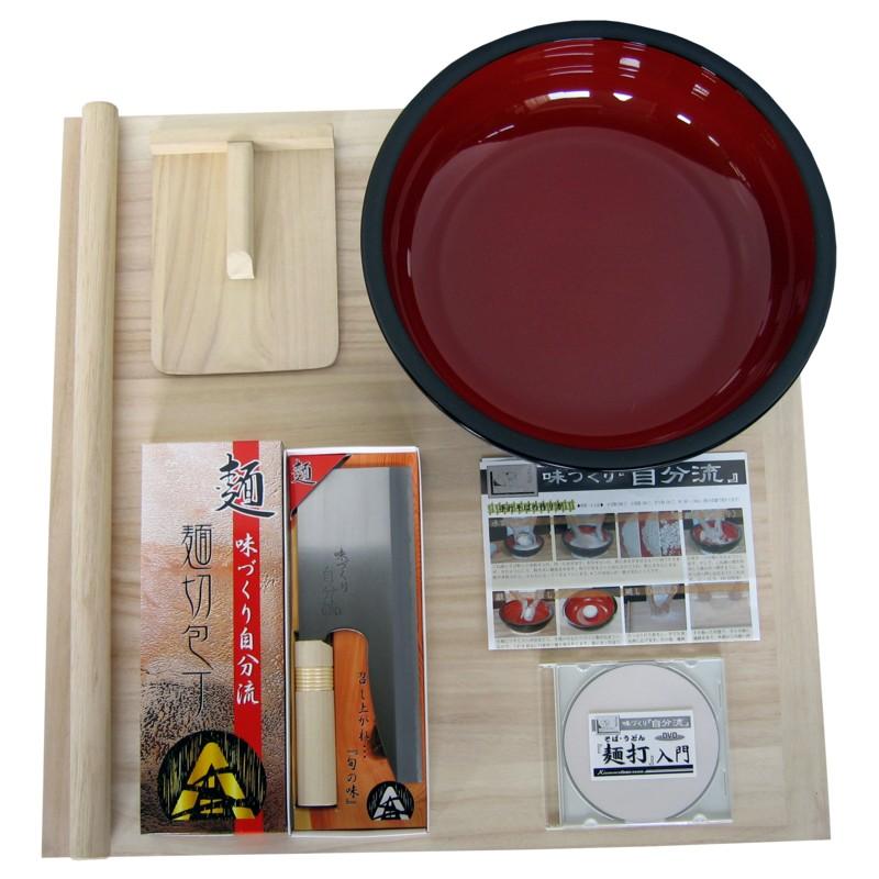 【送料無料】(沖縄県を除く)豊稔 家庭用麺打ちセットA A-1230  160sz