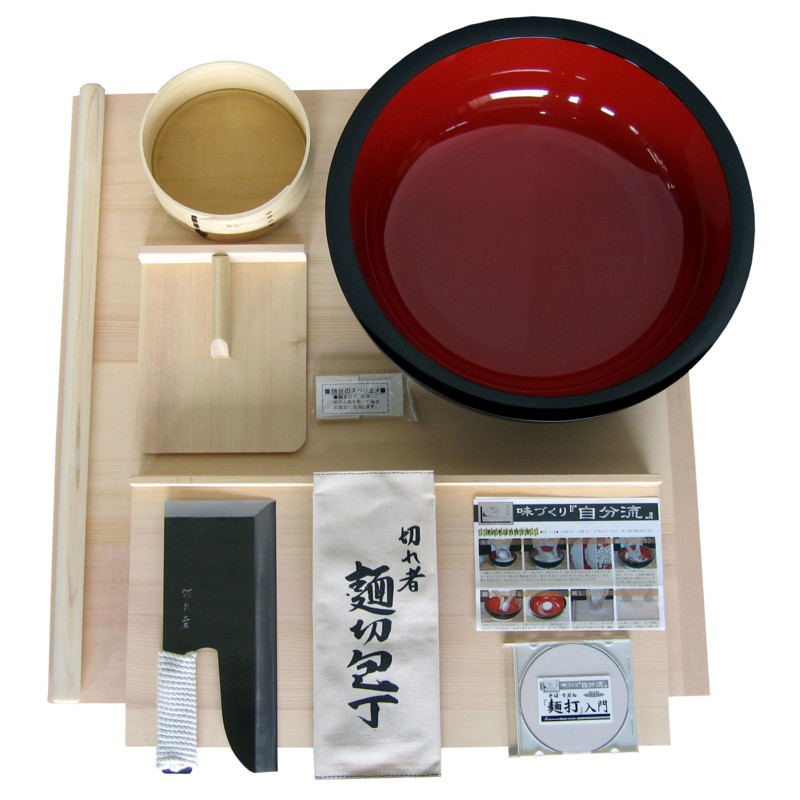 【送料無料】(沖縄県を除く)【大型商品】豊稔 麺打ちセット(雅) A-1550