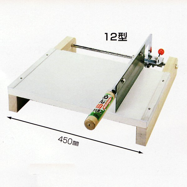 Noodle cutter (household semi-automatic noodles cut machine) 12-noodles cut knife and noodle stand became one!  Only by raising and lowering the handle cut noodles! Easy width adjustment, turn to for Soba / udon, etc.! And food sanitation Act passed Japan