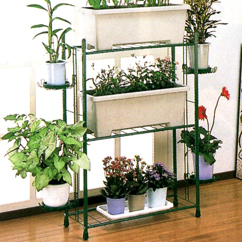 Planter Stand K 100 Pot Plants And S Communal Garden Rack Steel Small Flower An Made