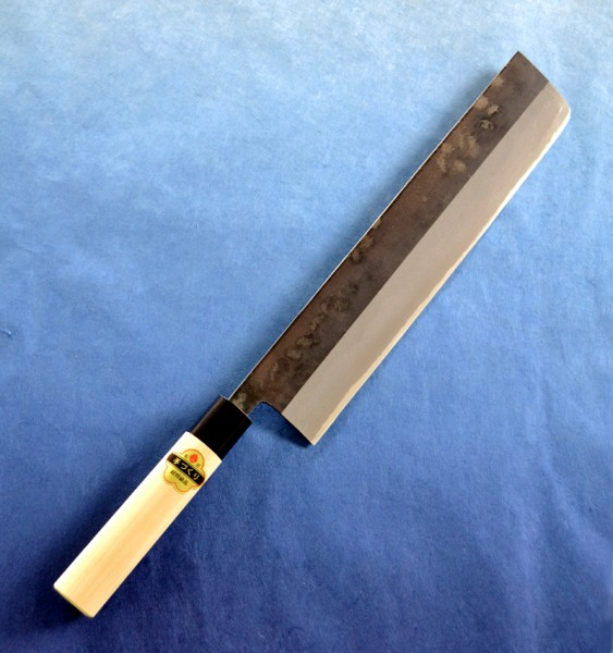 *【送料無料】(沖縄県を除く)玉日本 ねぎ切り包丁 黒打 360mm