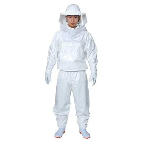 【送料無料】(沖縄県を除く)蜂防護服ラプターIII V-1000 ※※※防護手袋・白長靴は別売りです※※※