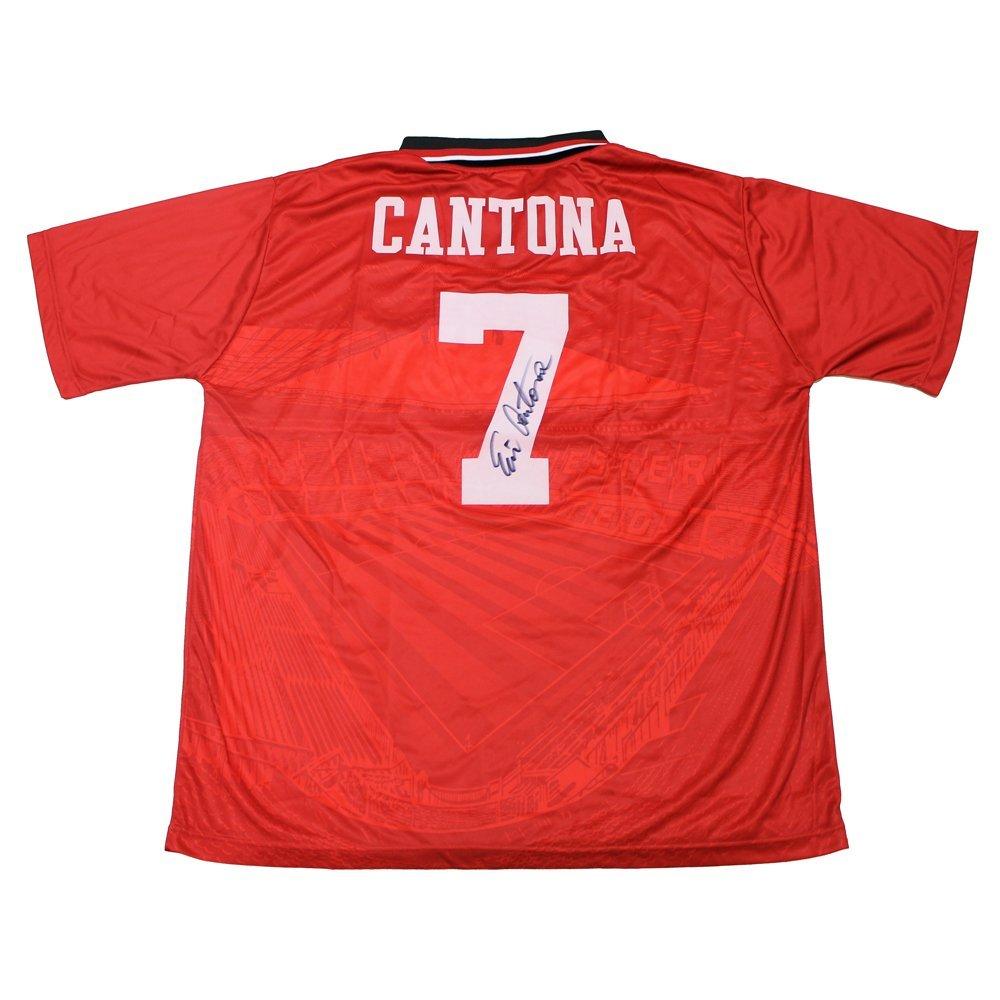 エリック・カントナ 直筆サイン入りユニフォーム (マンチェスターユナイテッド1996 FA Cup Winners)【All Star Signings】【スポーツ ホビー】【店頭受取対応商品】