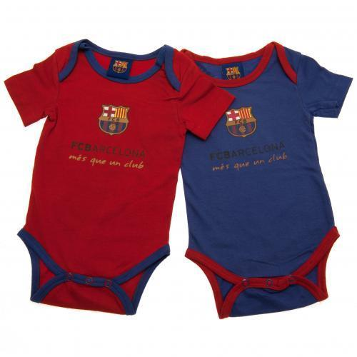 b9e8b28e5 Footballshop fcFA  FC Barcelona official rompers two pieces set ...