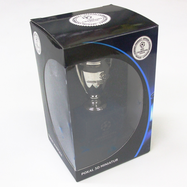 70mm (the body) (UEFA-CL-70-HP) with the UEFA champions league official  replica trophy 3D base
