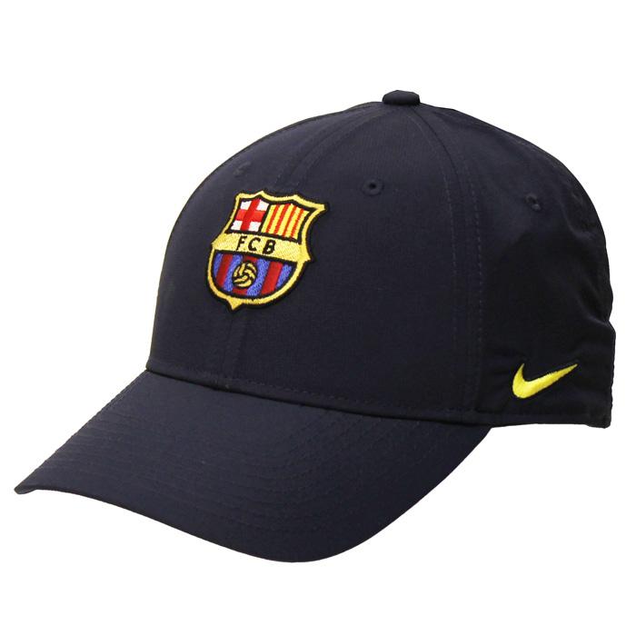 FCバルセロナ アジャスタブル L91 キャップ(ネイビー)【NIKE/ナイキ】【サッカー サポーター グッズ 帽子 キャップ】(AV7888 451)【店頭受取対応商品】|サッカーショップ fcFA