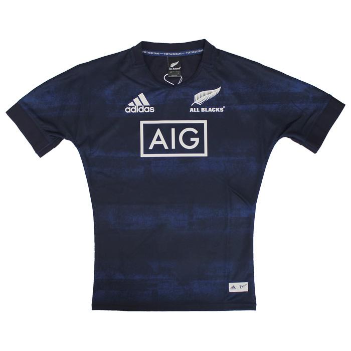 オールブラックス × PARLEY ジャージー【adidas/アディダス】【ラグビー ニュージーランド代表 ALL BLACKS ユニフォーム】(DQ0857)【店頭受取対応商品】