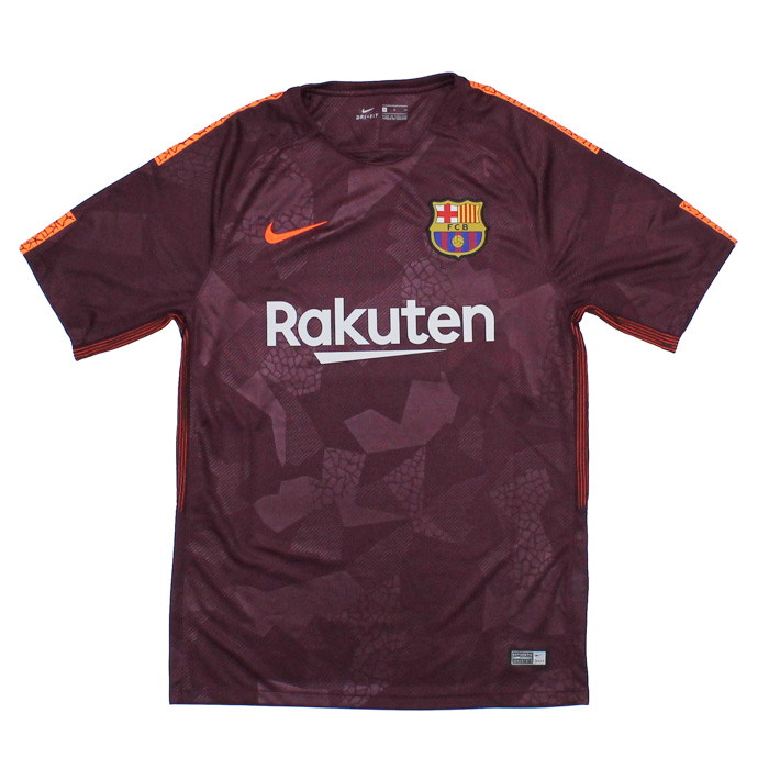 Footballshop fcFA  FC Barcelona 17-18 third short-sleeved uniform ... 502c088a3fadc