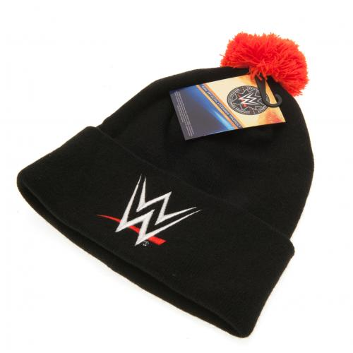 Footballshop fcFA  Knit cap (black) with the WWE official bonbon ... 2e0627ad6f4