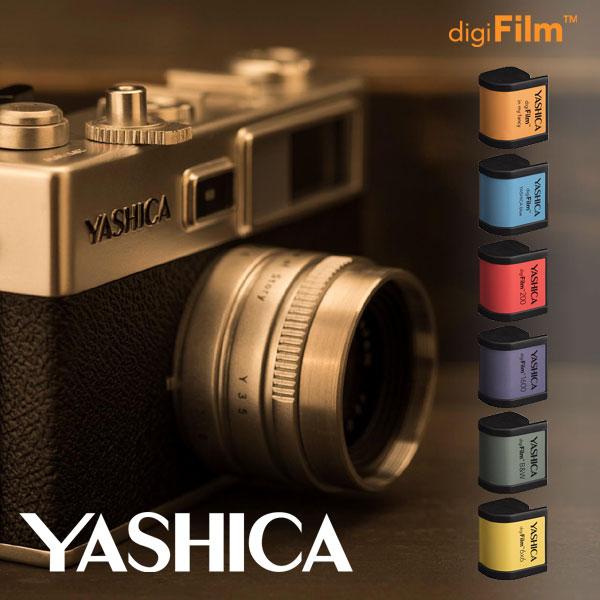 送料無料★ヤシカ YASHICA Y35 Combo【デジタルカメラ デジフィルム レトロ 昭和ギミック】
