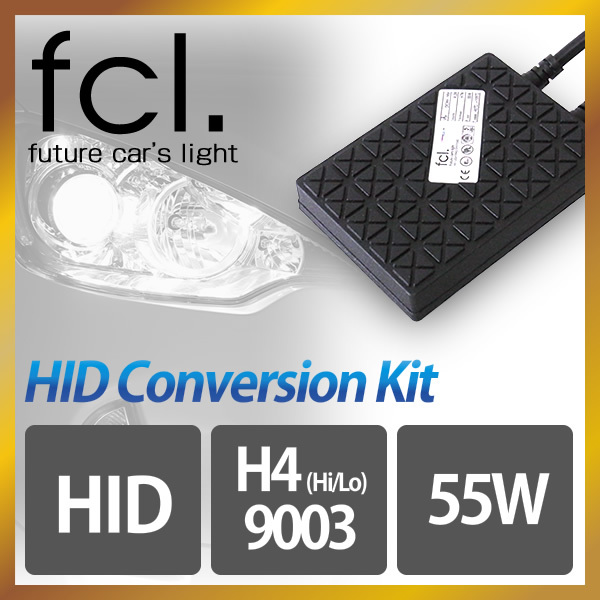 fcl.55W H4 Hi/Lo (HB2/9003) HID Xenon Conversion Kit
