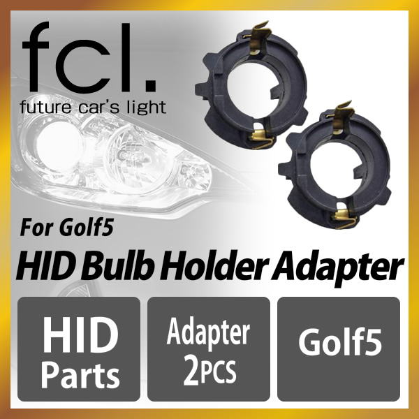 For the HID bulb adapter Golf 5