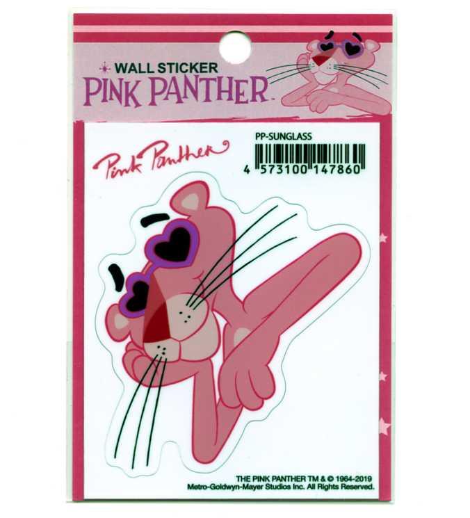 PINK PANTHER 供え ピンクパンサー ステッカー キャラクター SUNGLASS 優先配送 シール