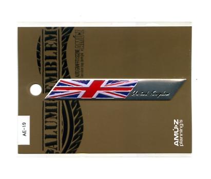 アルミエンブレム United 人気商品 Kingdom 国旗 イギリス まとめ買い特価 エンブレム