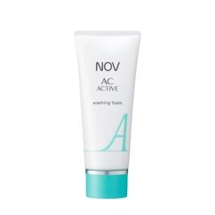 臨床皮膚医学に基づいて考えられたスキンケア化粧品 激安☆超特価 日本最大級の品揃え NOV ノブ ACアクティブ 100g ウォッシングフォーム