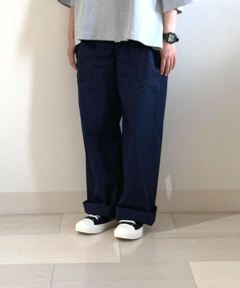 【お買い物するだけ20倍】stylr+confort スティール エ コンフォール コットンワイドパンツ【20200506】【H】