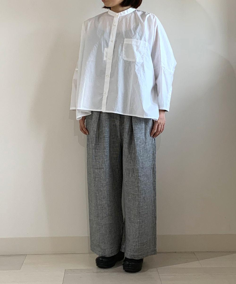 【お買い物するだけ20倍】style+confort スティールエコンフォール リネンタックパンツ【20200506】【H】
