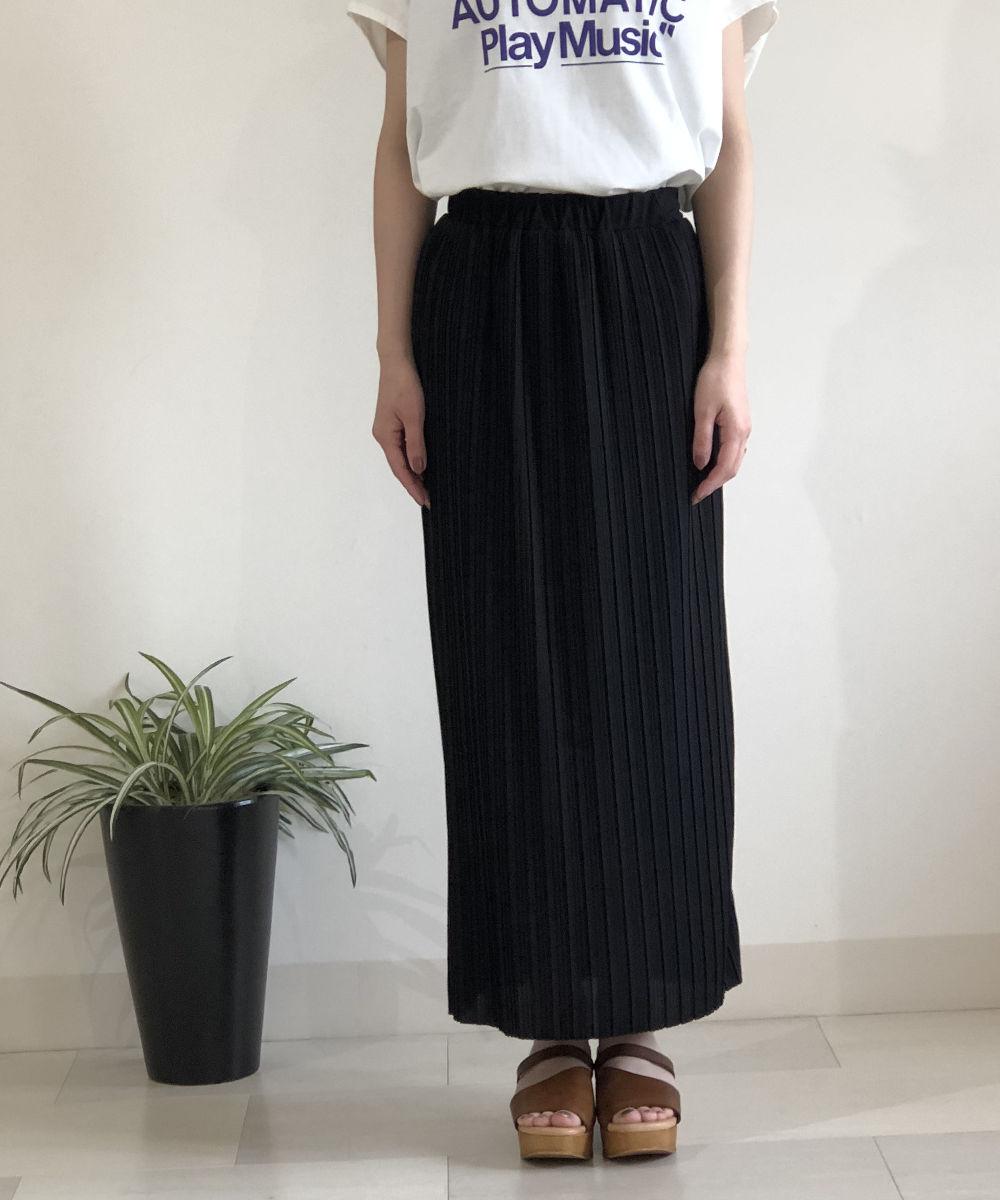 【お買い物するだけ20倍】Mylanka(ミランカ)プリーツロングスカート【20200502】【D】